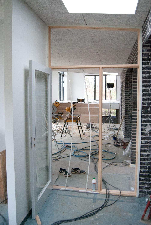 muret indendørs trappe